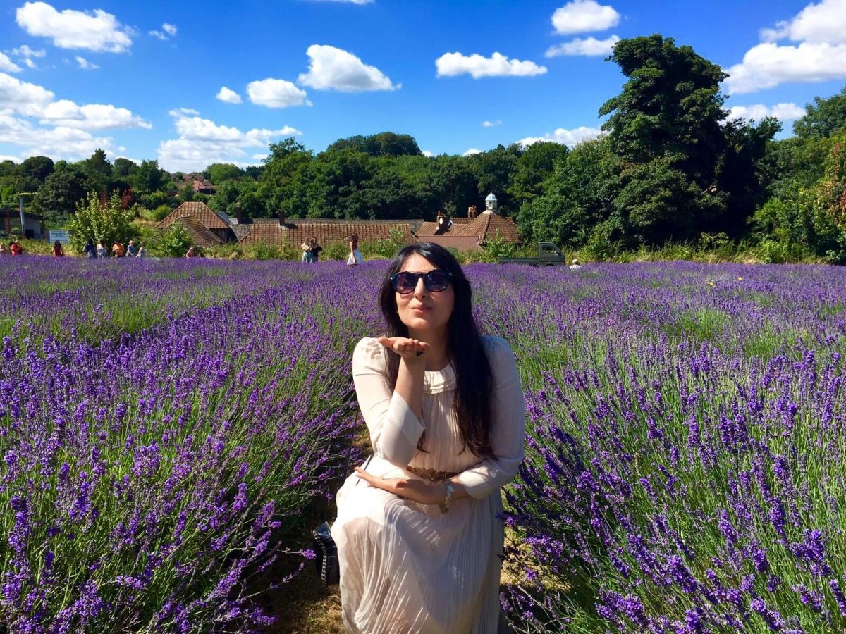 Mayfield Lavender Farm: Fashion Blogger Heaven