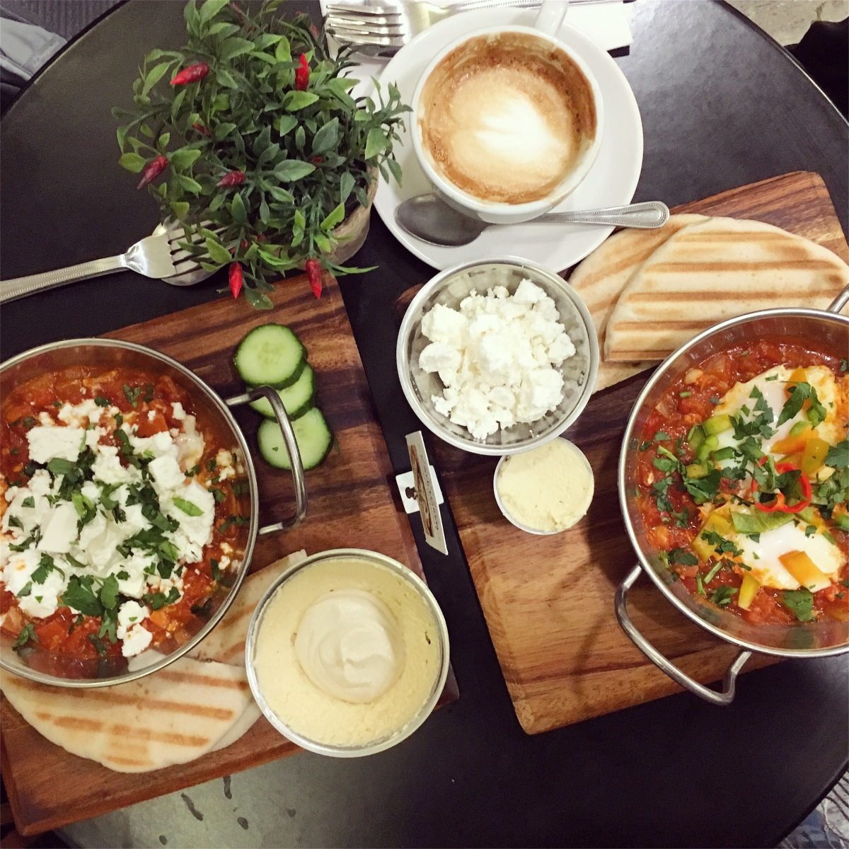 Shakshuka heaven at Cafe Loren