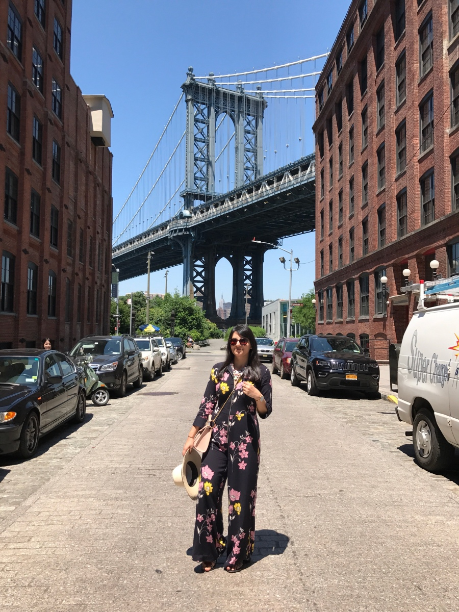 The other side of Brooklyn Bridge